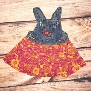 OshKosh b'gosh Hawaiian print dress 9 Months